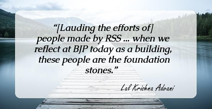9 Inspirational Quotes By L  K  Advani The Former Deputy PM